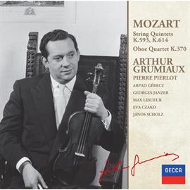 アルテュール・グリュミオー - モーツァルト:弦楽五重奏曲集VOL.2