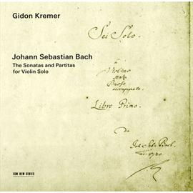ギドン・クレーメル - J.S.バッハ:無伴奏ヴァイオリン・ソナタ(全曲)