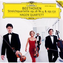 ハーゲン弦楽四重奏団 - ベートーヴェン:弦楽四重奏曲第4・14番