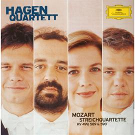 ハーゲン弦楽四重奏団 - モーツァルト:弦楽四重奏曲第20・22・23番