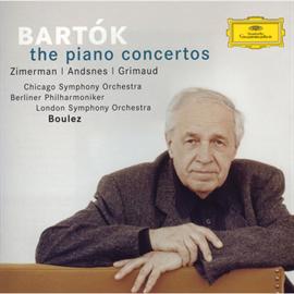 ピエール・ブーレーズ - バルトーク:ピアノ協奏曲(全3曲)