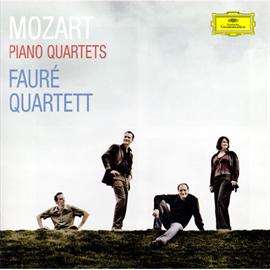 フォーレ四重奏団 - モーツァルト:ピアノ四重奏曲第1・2番