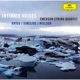 エマーソン弦楽四重奏団 - 親しい声~グリーグ&シベリウス:弦楽四重奏曲