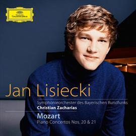 ヤン・リシエツキ - モーツァルト:ピアノ協奏曲第20番&第21番
