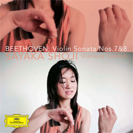 庄司紗矢香 - ベートーヴェン:ヴァイオリン・ソナタ 第7番&第8番