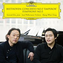 チョン・ミュンフン - ベートーヴェン:交響曲第5番《運命》、ピアノ協奏曲第5番《皇帝》