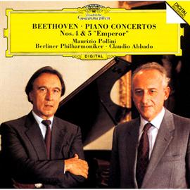 マウリツィオ・ポリーニ - ベートーヴェン:ピアノ協奏曲第4番&第5番