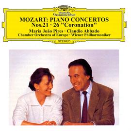 マリア・ジョアン・ピリス - モーツァルト:ピアノ協奏曲第21番&第26番《戴冠式》