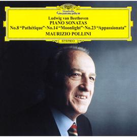 マウリツィオ・ポリーニ - ベートーヴェン:ピアノ、ソナタ《悲愴》《月光》《熱情》