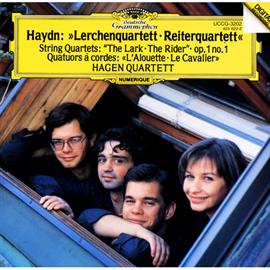 ハーゲン弦楽四重奏団 - ハイドン:弦楽四重奏曲第67番《ひばり》、第74番《騎士》、第1番