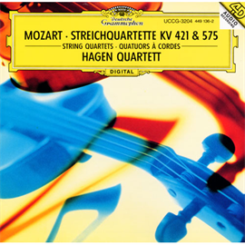 ハーゲン弦楽四重奏団 - モーツァルト:弦楽四重奏曲第15・21番