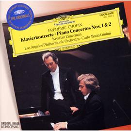 クリスティアン・ツィマーマン - ショパン:ピアノ協奏曲第1、2番