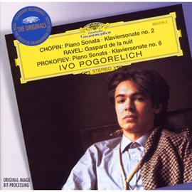 イーヴォ・ポゴレリチ - ショパン:ピアノ・ソナタ第2番、ラヴェル:夜のガスパール、プロコフィエフ:ソナ