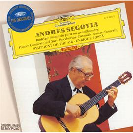 アンドレス・セゴビア - ロドリーゴ:ある貴紳のための幻想曲、他