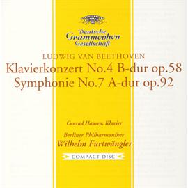 ヴィルヘルム・フルトヴェングラー - ベートーヴェン:ピアノ協奏曲第4番、交響曲第7番