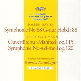 ヴィルヘルム・フルトヴェングラー - シューマン:交響曲第4番、《マンフレッド》序曲、他