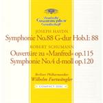 シューマン:交響曲第4番、《マンフレッド》序曲、他