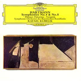 ラファエル・クーベリック - ハルトマン:交響曲第4番、8番、他
