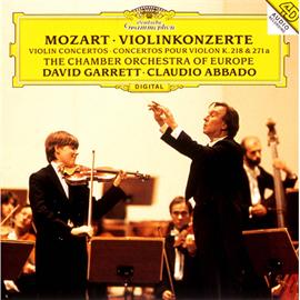 デイヴィッド・ギャレット - モーツァルト:ヴァイオリン協奏曲 第4番、第7番、第40番
