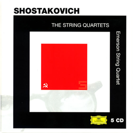 エマーソン弦楽四重奏団 - ショスタコーヴィチ:弦楽四重奏曲全集 CD1