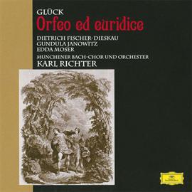 カール・リヒター/ミュンヘン・バッハ管弦楽団 - グルック:歌劇《オルフェオとエウリディーチェ》