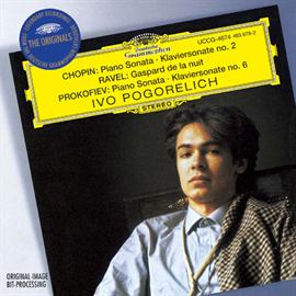 イーヴォ・ポゴレリチ - ショパン:ソナタ第2番、ラヴェル:夜のガスパール