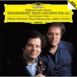 イツァーク・パールマン - モーツァルト:ヴァイオリン協奏曲第3番&第5番《トルコ風》