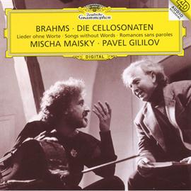ミッシャ・マイスキー - ブラームス:チェロ・ソナタ第1番・第2番、歌曲集