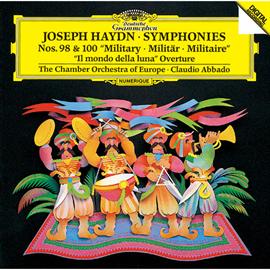 クラウディオ・アバド - ハイドン:交響曲第98番&第100番《軍隊》、歌劇《月の世界》序曲