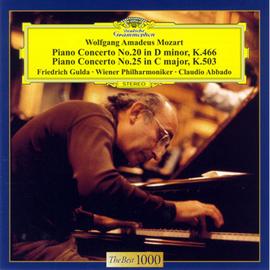フリードリヒ・グルダ - モーツァルト:ピアノ協奏曲 第20番 & 第25番