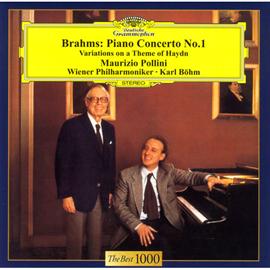 マウリツィオ・ポリーニ - ブラームス:ピアノ協奏曲第1番、他
