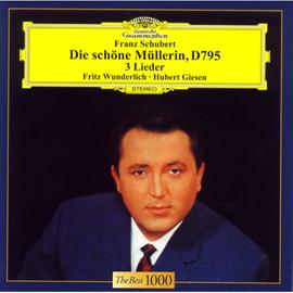 フリッツ・ヴンダーリヒ - シューベルト:歌曲集《美しき水車小屋の娘》、他