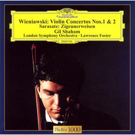 ギル・シャハム - ヴィエニャフスキ:ヴァイオリン協奏曲集、サラサーテ:ツィゴイネルワイゼン