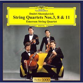 エマーソン弦楽四重奏団 - ショスタコーヴィチ:弦楽四重奏団第3番、第8番、第11番