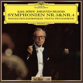 カール・ベーム - ブラームス:交響曲第3番&第4番