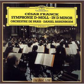 ダニエル・バレンボイム - フランク:交響曲ニ短調、交響詩《プシュケ》