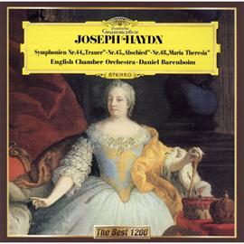 ダニエル・バレンボイム - ハイドン:交響曲第44番《悲しみ》、第45番《告別》、第48番《マリア・テレジア》