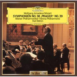 カール・ベーム - モーツァルト:交響曲第38番《プラハ》、第39番