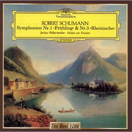 ヘルベルト・フォン・カラヤン - シューマン:交響曲第1番《春》、第3番《ライン》
