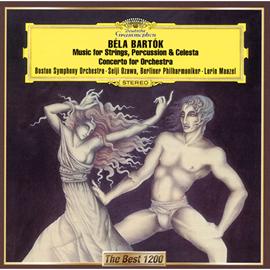 小澤征爾 - バルトーク:管弦楽のための協奏曲/弦楽器、打楽器とチェレスタのための音楽
