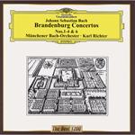 J.S.バッハ:ブランデンブルク協奏曲第1番-第4番,第6番
