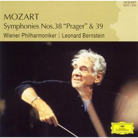 レナード・バーンスタイン - モーツァルト:交響曲第38番《プラハ》、第39番