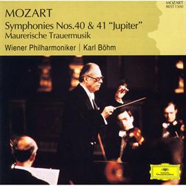 カール・ベーム - モーツァルト交響曲第40番、第41番《ジュピター》