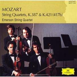 エマーソン弦楽四重奏団 - モーツァルト:弦楽四重奏曲第14番、第15番
