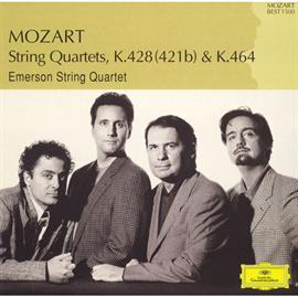 エマーソン弦楽四重奏団 - モーツァルト:弦楽四重奏曲第16番、第18番