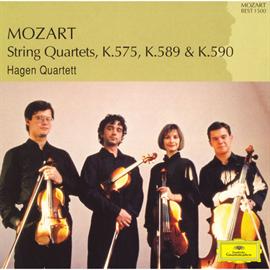 ハーゲン弦楽四重奏団 - モーツァルト:弦楽四重奏曲第21番-第23番