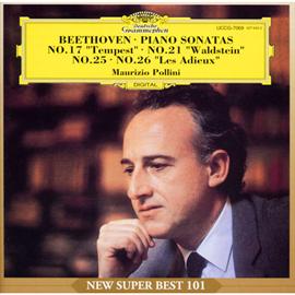 マウリツィオ・ポリーニ - ベートーヴェン:ピアノ・ソナタ第17、21番、他