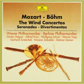 カール・ベーム - モーツァルト:管楽器のための協奏曲集、セレナード、ディヴェルティメント集