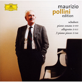 マウリツィオ・ポリーニ - シューベルト:ピアノ・ソナタ第20番、アレグレット、3つのピアノ小品