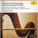 モーツァルト:フルートとハープのための協奏曲、ほか